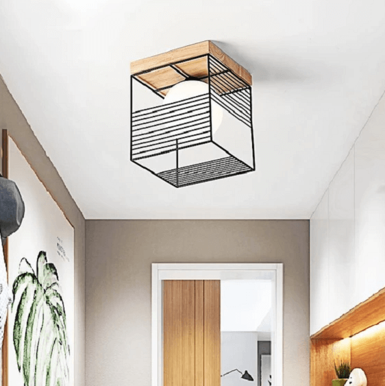 Escher - Vintage Cage Ceiling Lights - at´creative