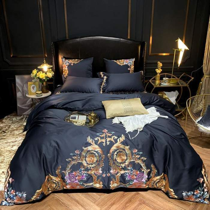 Evianna Inspire Duvet Cover Set (Egyptian Cotton) - Atcreative