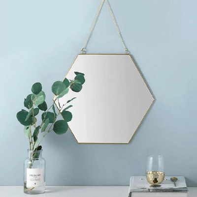 Fallon - Modern Nordic Basic Hanging Mirror - Atcreative
