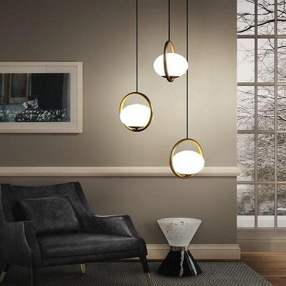 Fausta-Modern European Design Hanging Pendant Lamp - at´creative