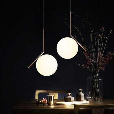 Flora-Pendant Sphere Lamps - Atcreative