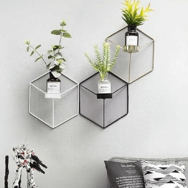 Hex - Modern Nordic Planter Shelves - at´creative