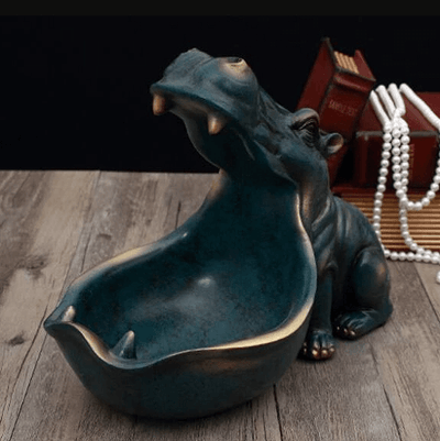 Hippopotamus Sculpture Statue - Atcreative