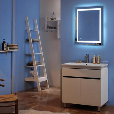 Hodge - Touch Screen Backlit Light Frame Mirror - Atcreative
