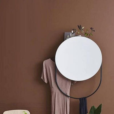 Howard - Luxury Bathroom Mirror & Hand Towel Rack - Atcreative