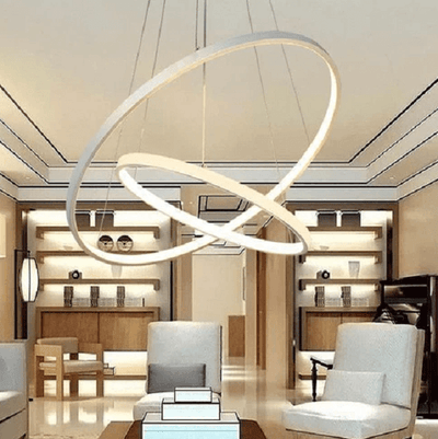 Indoor Modern Circular Ring Chandelier - Atcreative