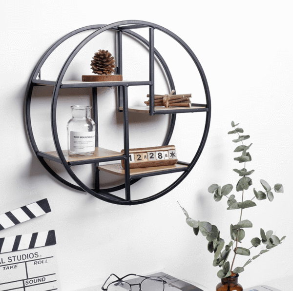 Iron Minimal Shelf