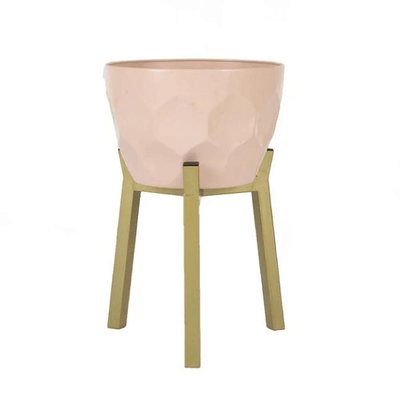 Koa - Geometric Modern Nordic Planter with Stand - Atcreative