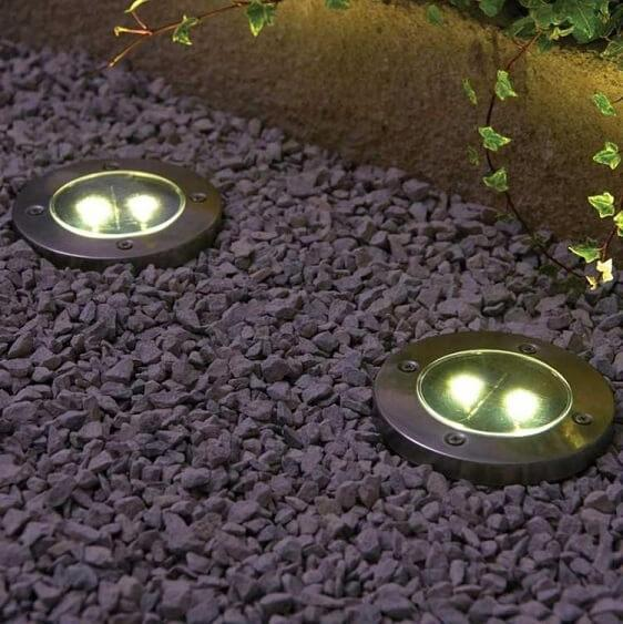 Solar Powered Floor Path LED Light - Atcreative