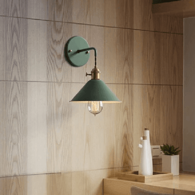 Linus - Vintage Plated Wall Lamp - at´creative