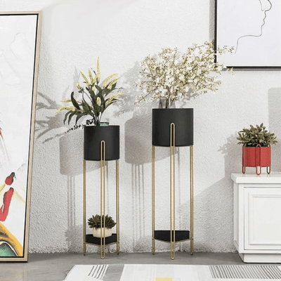 Lizeth - Modern Nordic Two Level Planter - Atcreative
