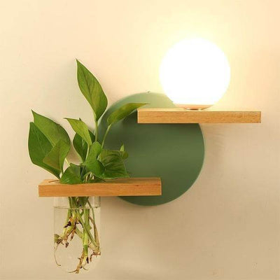 Lyla - LED Lamp Planter & Shelves Combo - at´creative