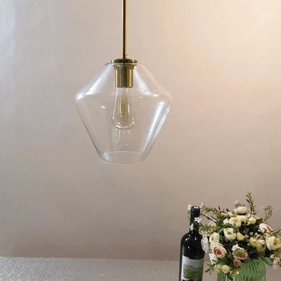 Meriall - Hanging Glass Pendant Lamp - Atcreative