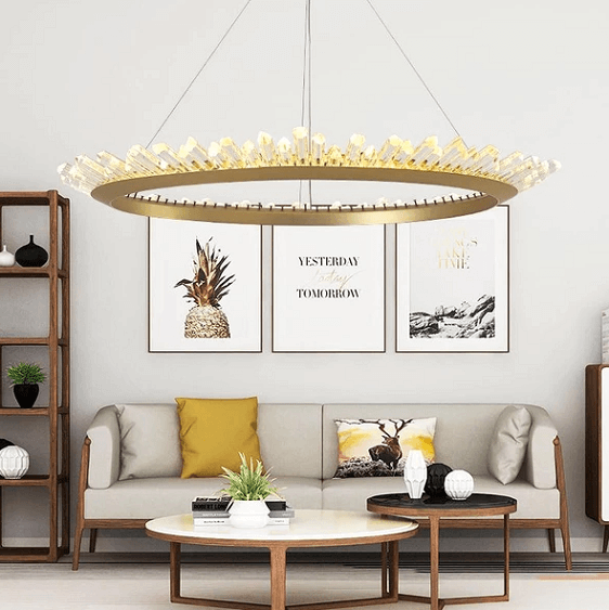 Mignonette - Modern Crystal LED Chandelier - at´creative