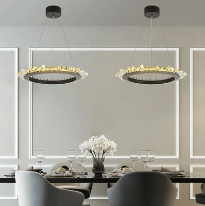 Mignonette - Modern Crystal LED Chandelier - Atcreative