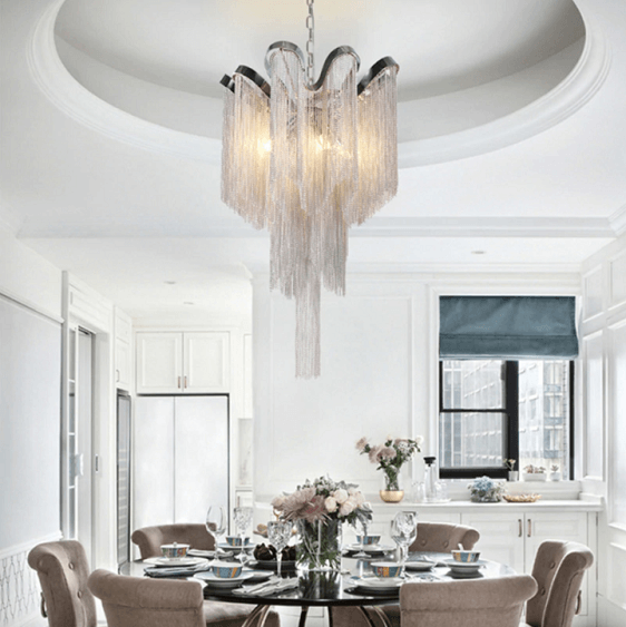 Moda Luxury Chain Chandelier - at´creative