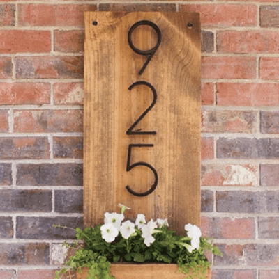 Modern House Numbers - Atcreative