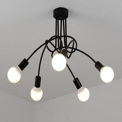 Modern Industrial Loft Chandelier - Atcreative
