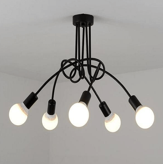 Modern Industrial Loft Chandelier - at´creative