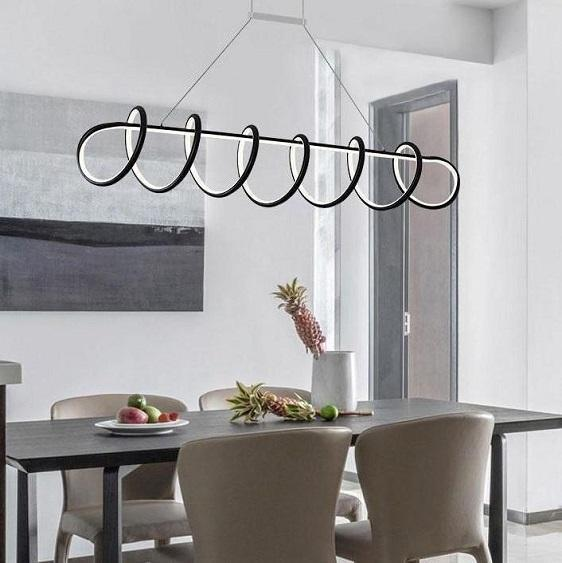 Modern LED Curly Light Fixture - at´creative
