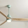 Modern Nordic Ceiling Fan with LED Light - Atcreative
