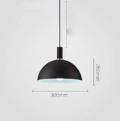 Modern Nordic Round Lampshade Hanging Light - Atcreative
