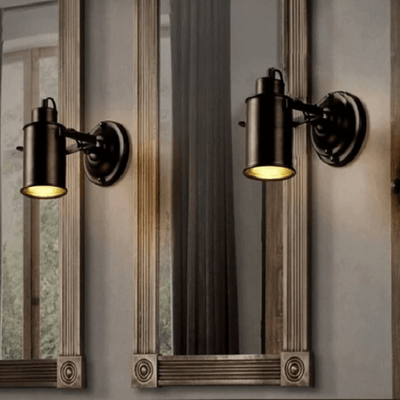 Tuntt - Modern Industrial Adjustable Wall Lamp - Atcreative