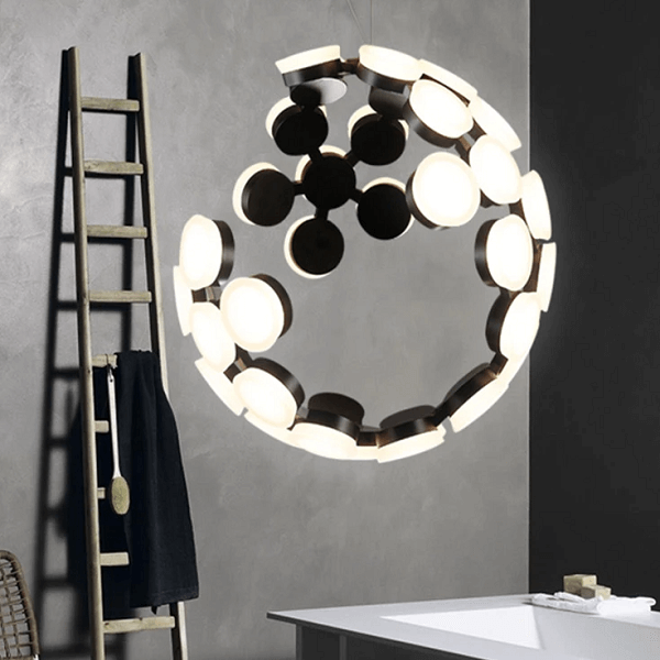 Moon LED Chandelier - at´creative