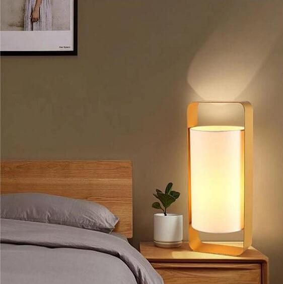 Nate - Modern Frame Floating Lantern Desk Lamp - Atcreative
