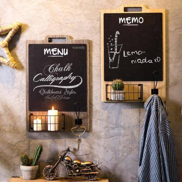 Notely - Retro Hanging Chalkboard - at´creative