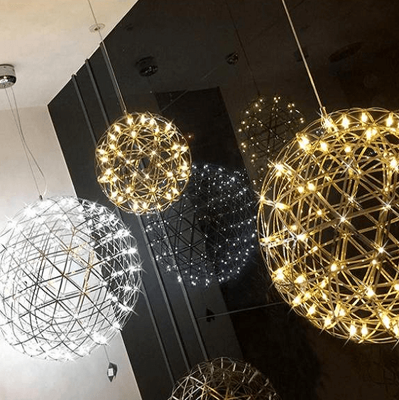 Orbital-LED Hanging Lamp