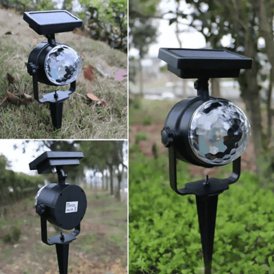 Oren - LED Solar Power Projector Garden Light - Atcreative