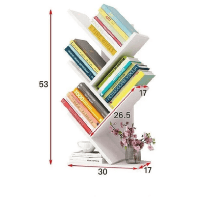 Paityn - Angled Desktop Bookcase - Atcreative