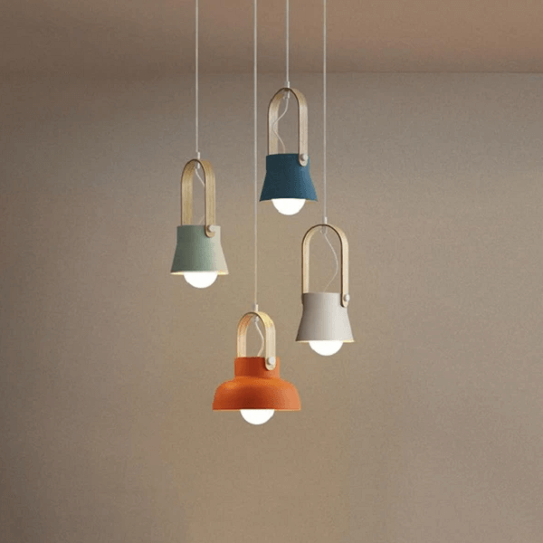 Petah - Modern Nordic LED Hanging Dome Lights - at´creative