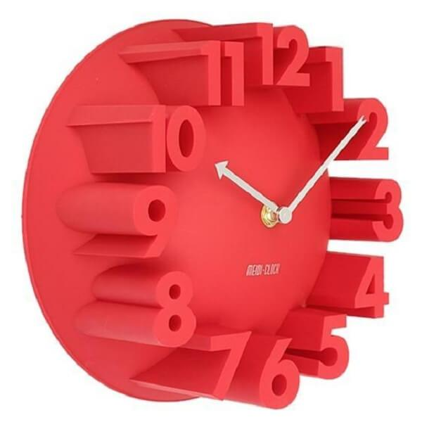 Pierre - Modern 3D Round Wall Clock - Atcreative