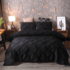 Pinch Pleat 3-Piece Duvet Cover Set - Atcreative