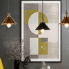 Pius - Modern Shade Hanging Lamp - Atcreative