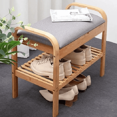 Rilynn - Shoe Rack with Bench - Atcreative