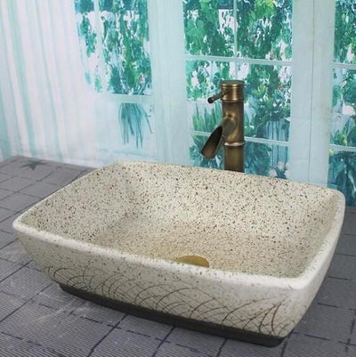 Roca - Porcelain Ceramic Vessel Sink - Atcreative