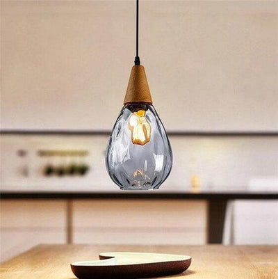 Sergia - Modern Nordic Drop Glass Pendant Lamp - Atcreative