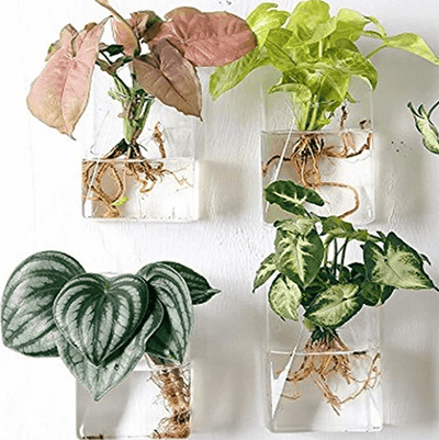 Set of 4 Wall Mountable Planters - Atcreative