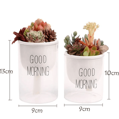 Shuka - Automatic Watering Ceramic Planter Pot - Atcreative