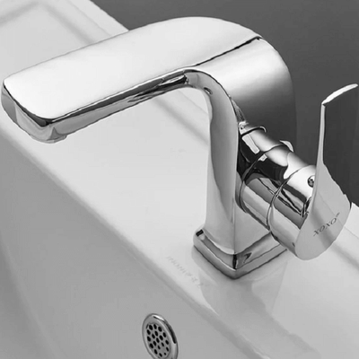 Specter - Curved Lux Bathroom Faucet - Atcreative