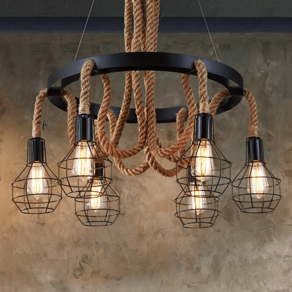 Tarek - Retro Loft Pendant Light