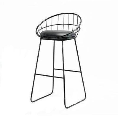 Thierry - Iron Hollow Out Frame Bar Stool - Atcreative