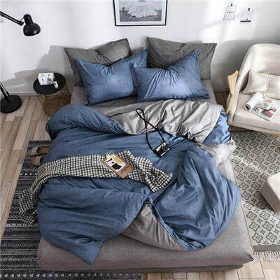 Two Tone DUVET Cover Set - Atcreative