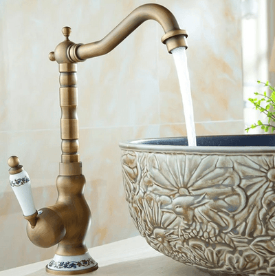 Vintage Brass Faucet - Atcreative