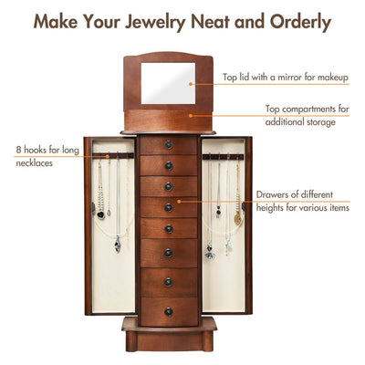 Box Stand Jewelry Cabinet - at´creative