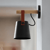 Wooden Lantern Nordic Hanging Wall Lamp - Atcreative