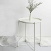 Wyatt - Modern Metal End Table - at´creative